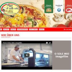 Pizza O-sole-mio